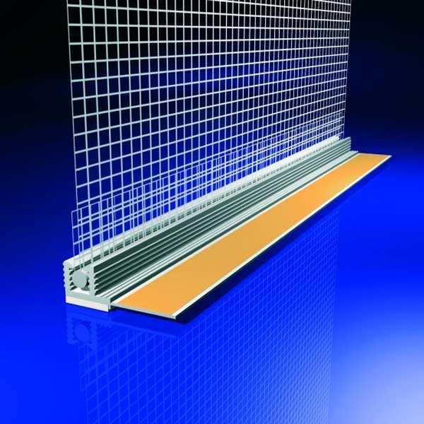 LB-Knauf Ablakcsatlakozási profil - 50 x 2,4 fm